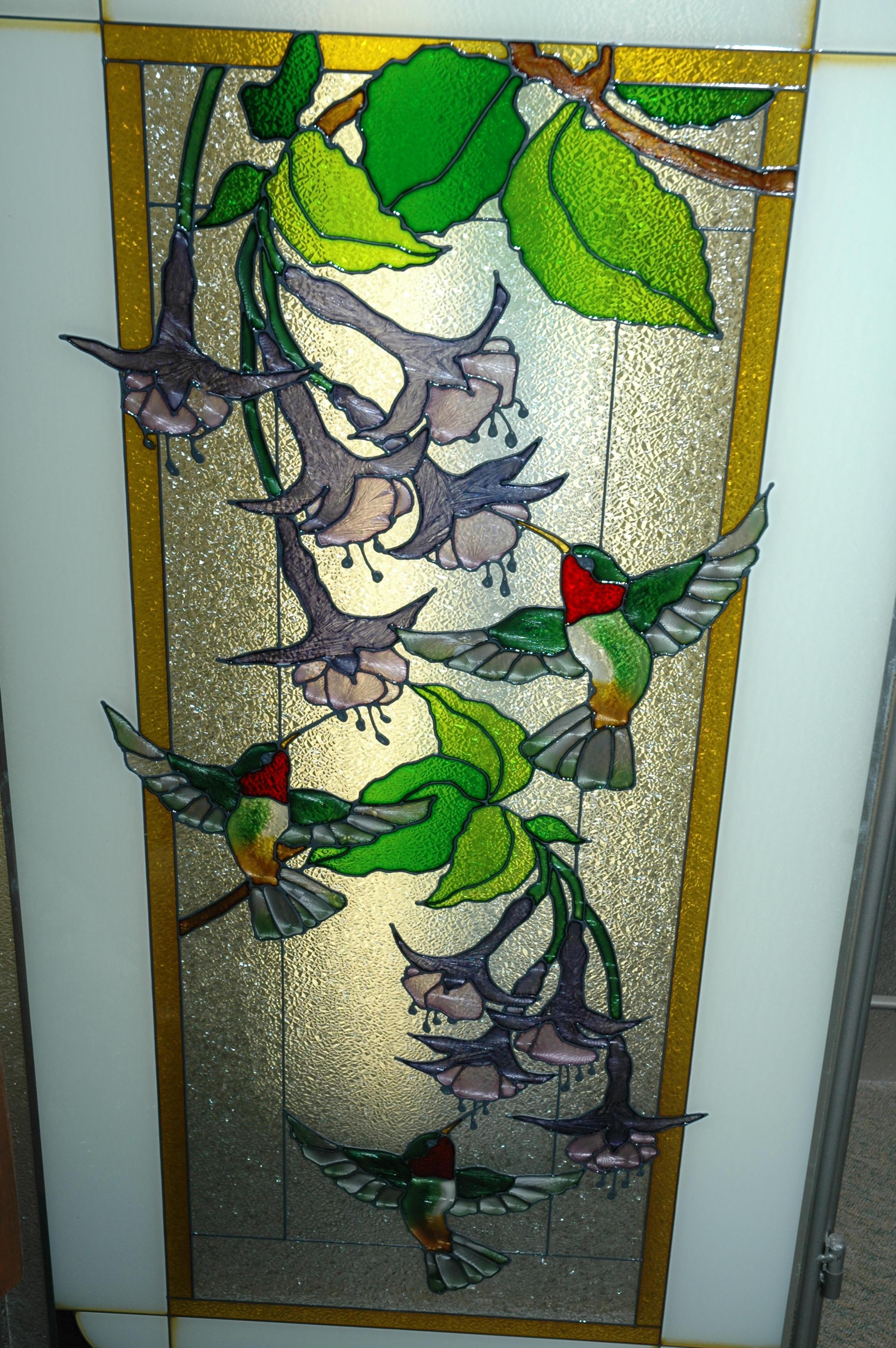 Unique gifts for Unique glass painting designs